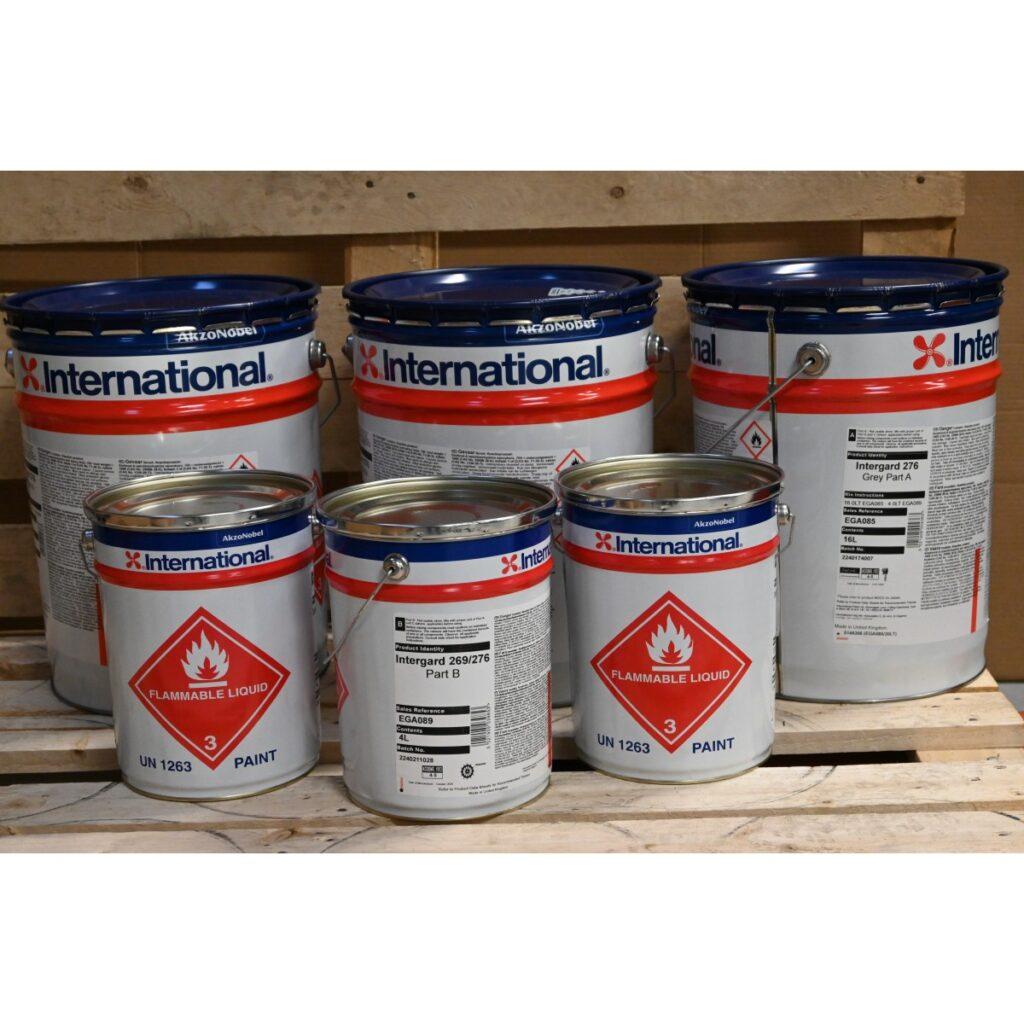 Grå maling til både International Intergard 276