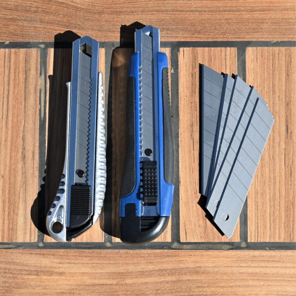 Løse knækblade til 18mm hobbykniv