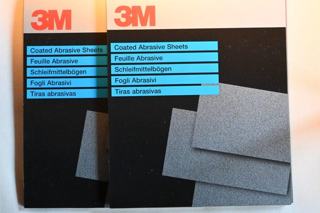 3M Våd/tør slibeark 230x280 mm