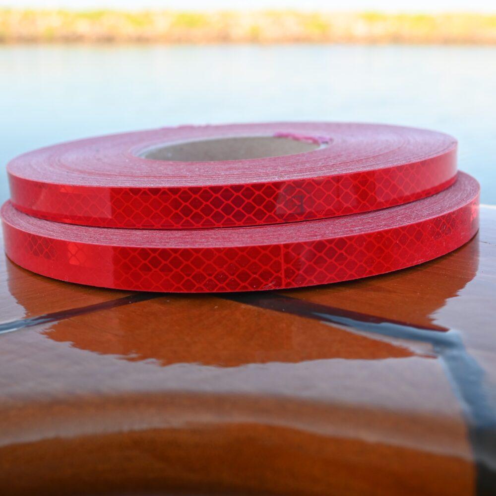 3M rød refleks tape