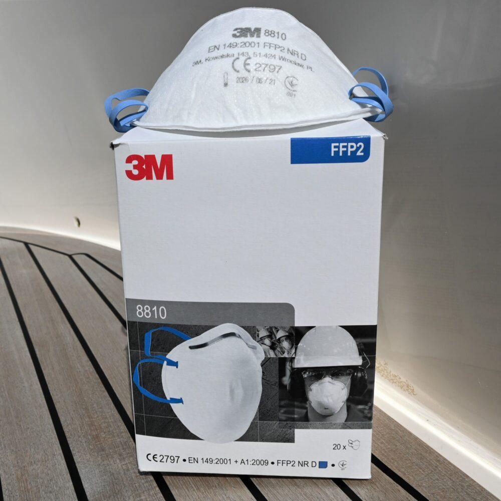 3M støvmaske FFP2
